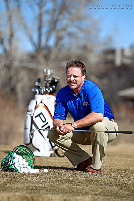 calgary photographer chinook golfer photo
