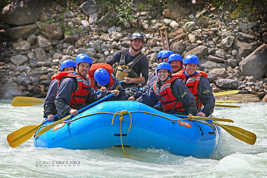 golden wedding photographer white water rafting photo