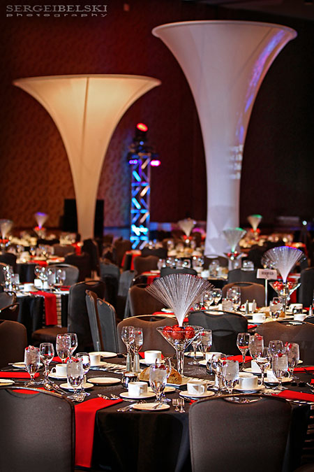 calgary event photographer corporate christmas party photo