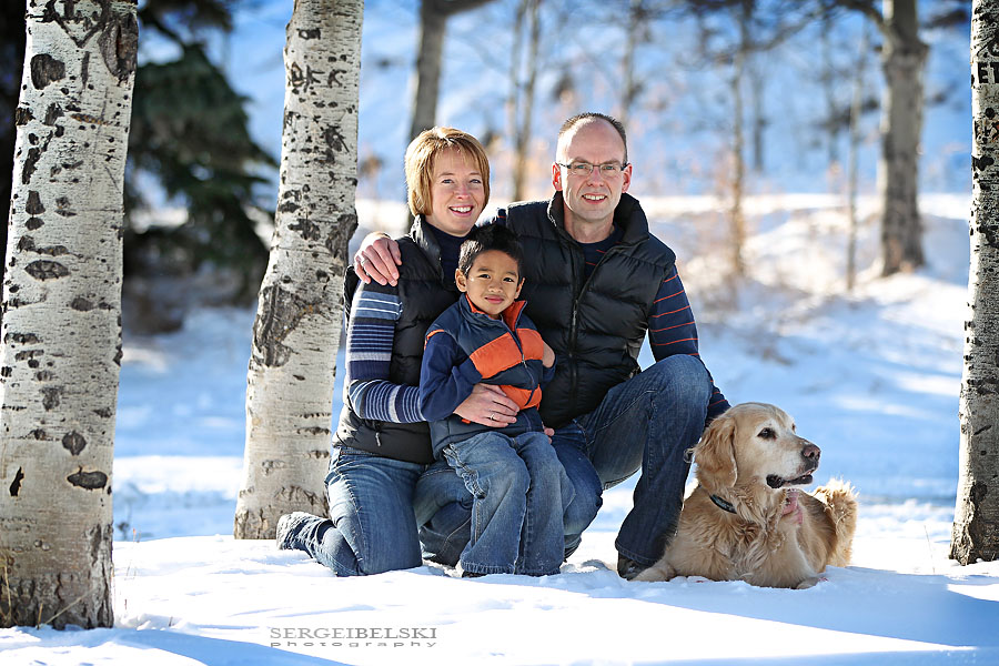 sergei belski family photo shoot