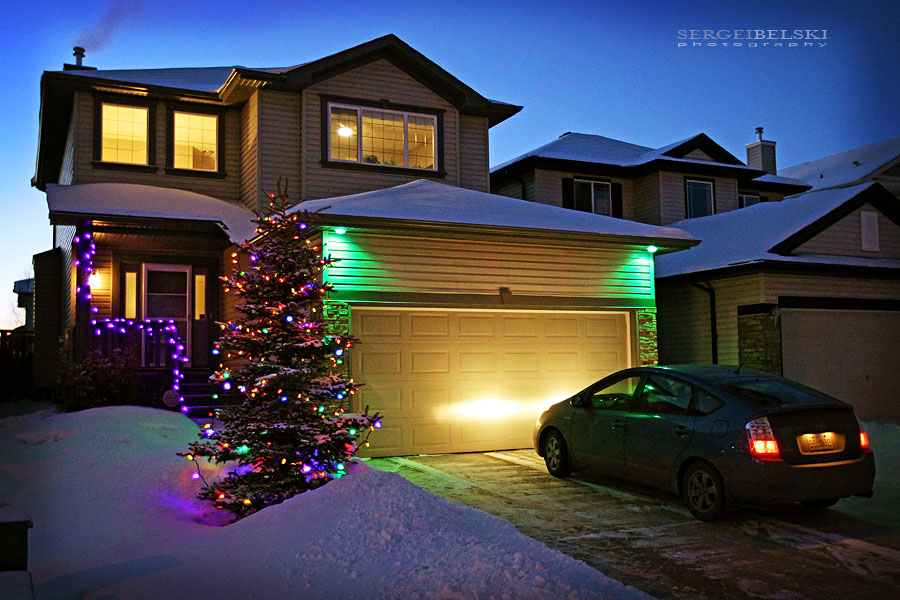 airdrie christmas home photo