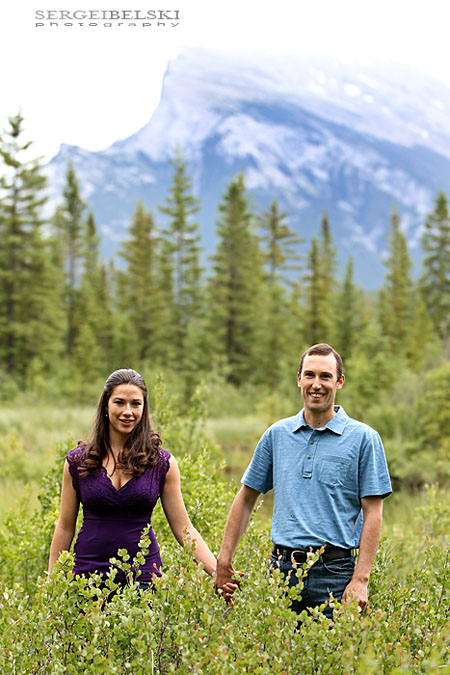 sergei belski wedding photographer engagement in banff photo