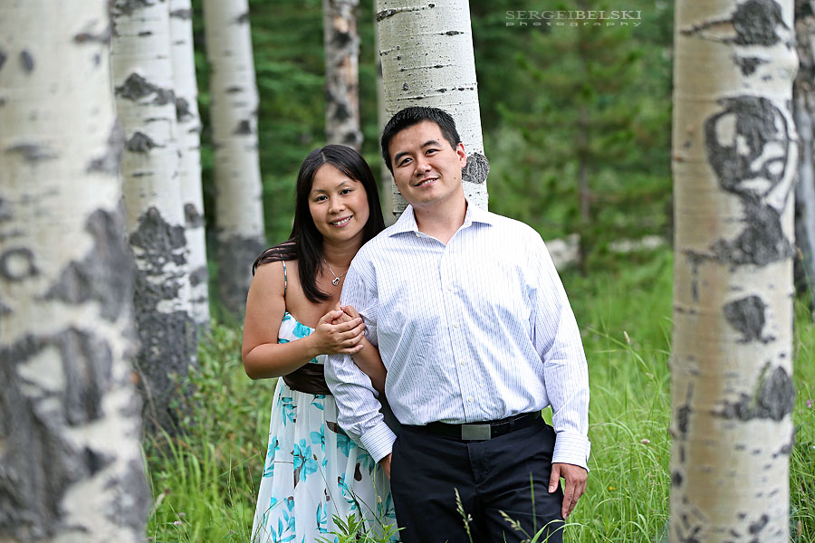 engagement bragg creek sergei belski photo