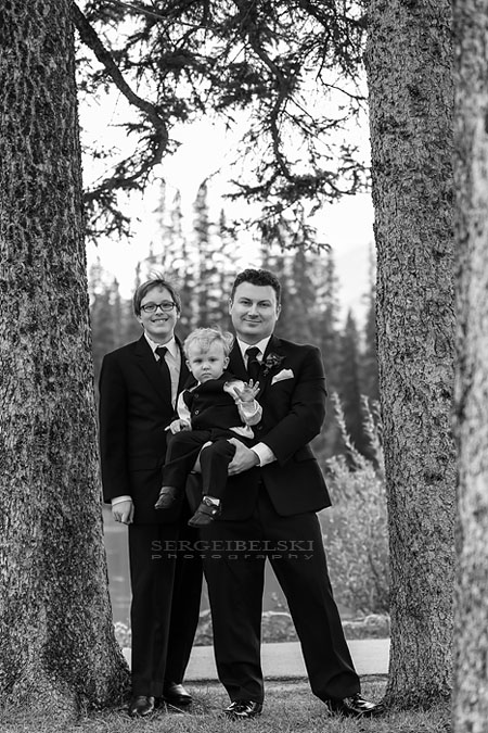 banff wedding photo