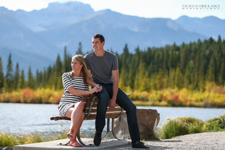 engagement photo shoot banff sergei belski photo