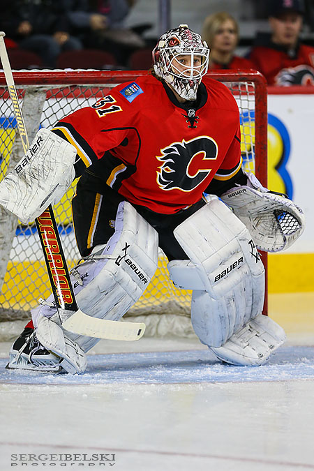 nhl hockey calgary flames vs dallas stars sergei belski photo