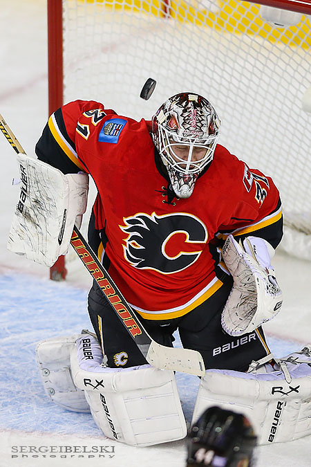 nhl hockey calgary flames vs toronto maple leafs sergei belski photo