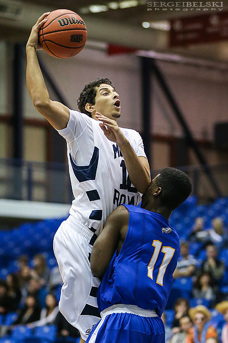 mount royal university basketball sergei belski photo