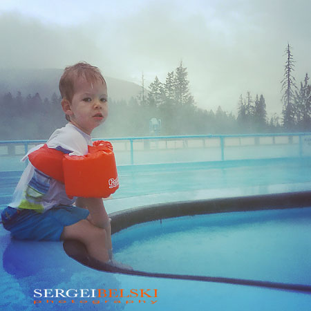 family hot springs trip travel photographer sergei belski photo