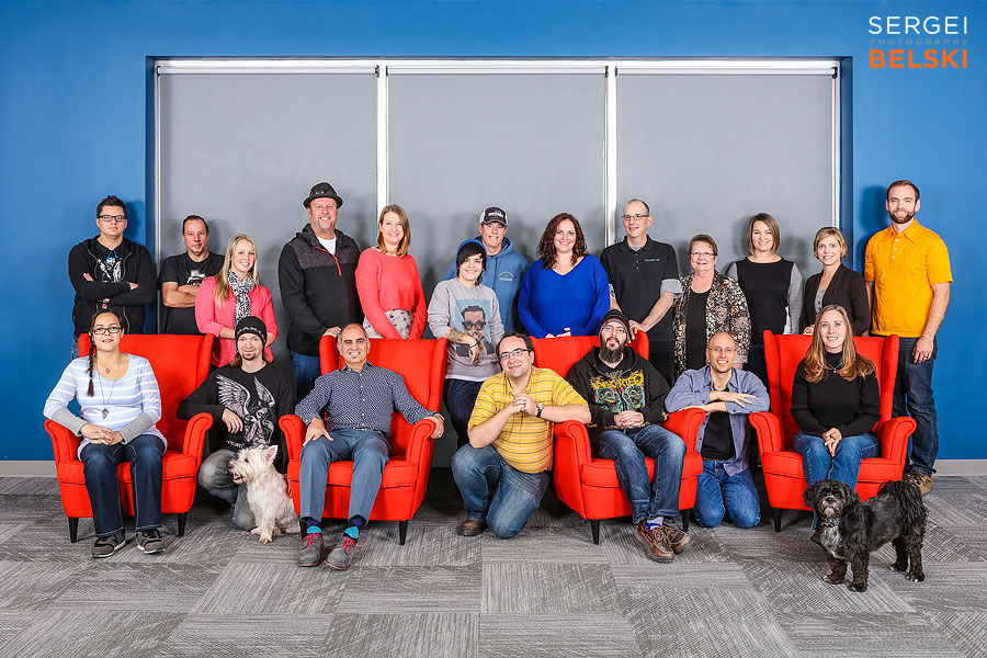 calgary corporate group portrait photographer sergei belski photo
