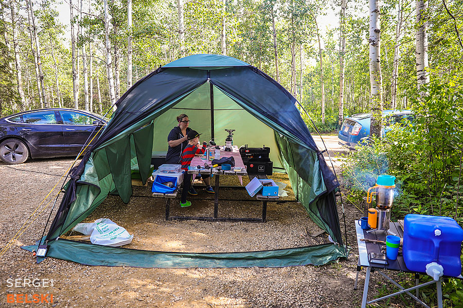 camping family trip calgary photographer sergei belski photo