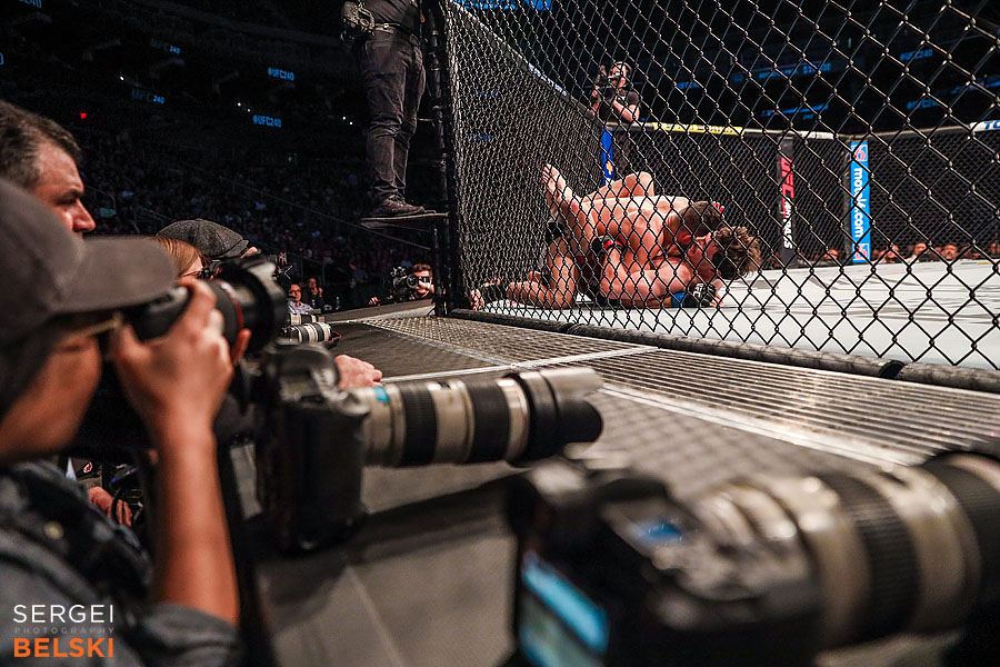 ufc calgary sports photographer sergei belski photo