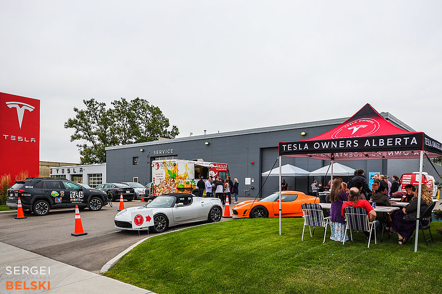 my tesla adventures calgary event photographer sergei belski photo