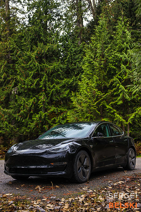 my tesla adventures Vancouver road trip photographer sergei belski photo